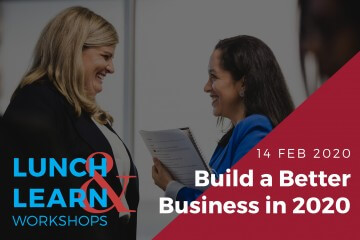 Lunch & Learn - 14 Feb 2020